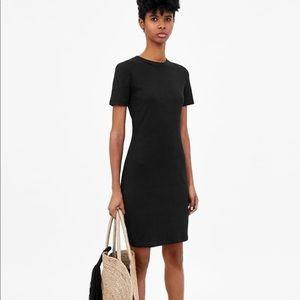 ZARA rib mini dress